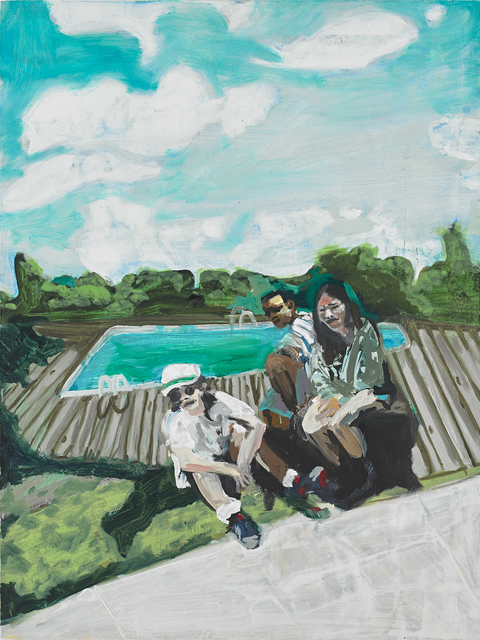 , 'The Poolside Kids,' 2015, Taymour Grahne