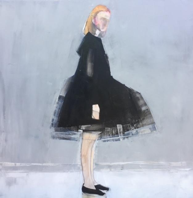 , 'Girl in Black Dress ,' 2018, Susan Eley Fine Art