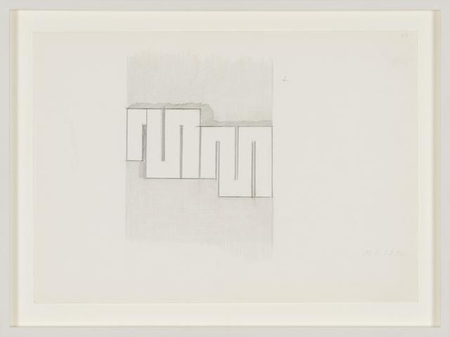 , '13.IX.77,' 1977, Galerija Gregor Podnar