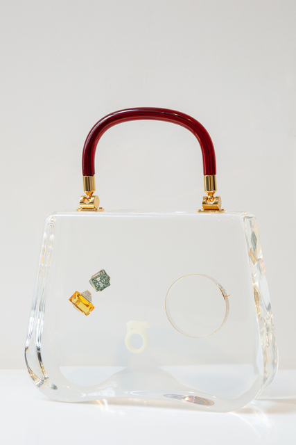 Ted Noten, 'Bag with rings and Bracelet', 2017, MPV Gallery