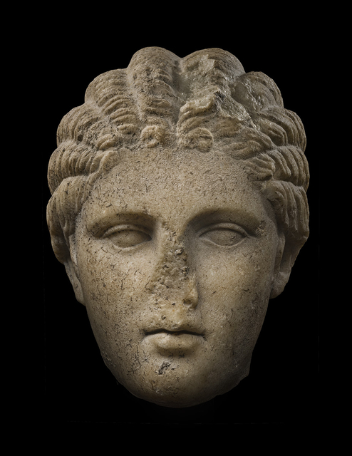 , 'Head of the Small Herculaneum Woman,' 200 BCE-100 BCE, Colnaghi