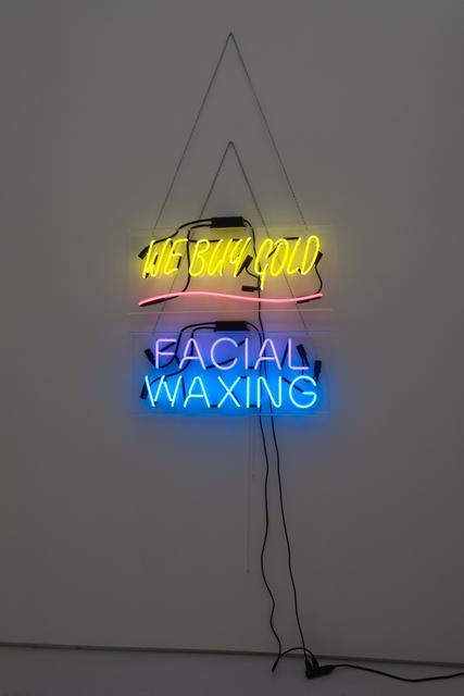 Daniel Joseph Martinez, 'We Buy Gold Facial Waxing', 2012, Roberts Projects