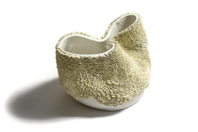 , 'White Green Flow Pot,' , Jonathan Cooper