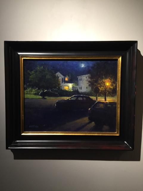 Carl Bretzke, 'Off Street Parking', 2015, Painting, Oil on linen, Grenning Gallery