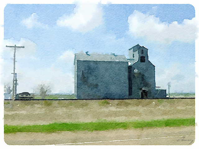 , 'Grain Elevator, ND,' 2014, TAG Gallery
