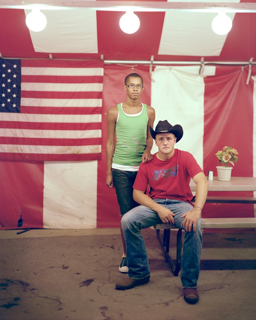 Richard Renaldi, 'Jeromy and Matthew, 2011, Columbus, OH,' 2011, Aperture Foundation