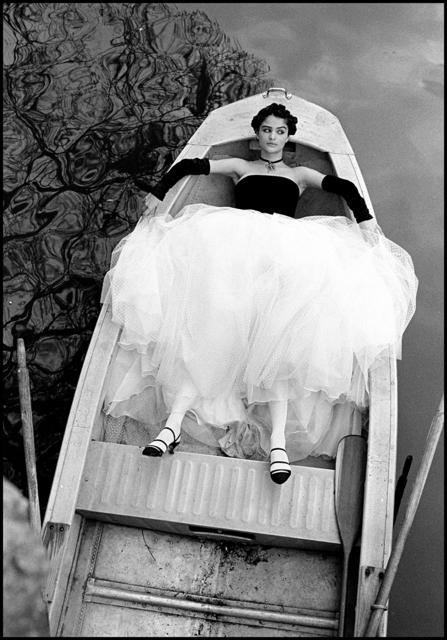 Arthur Elgort, 'Helena Christensen in New Orleans, British VOGUE', 1990, Photography, Staley-Wise Gallery