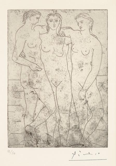 Pablo Picasso, 'LES TROIS BAIGNEUSES II,' 1923, Christopher-Clark Fine Art
