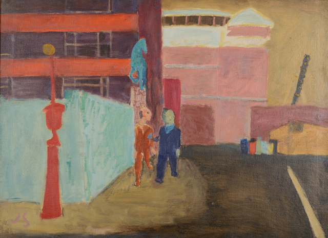 , 'ASPCA: Street Near Bellevue,' 1939, Caldwell Gallery Hudson