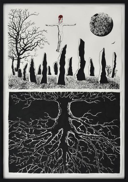 , 'Moonage Daydream,' 2017, Suzanne Tarasieve