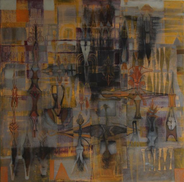 Guillermo Pacheco, 'Alfarero', 2019, Painting, Oleo y pigmento/tela, Quetzalli Arte y Diseño