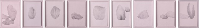 , 'Ich kopiere mich selbst, typisch (Steine für Wittgenstein), Hongkong,' 2016, Galerie Thomas Schulte