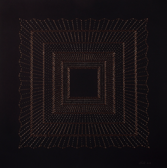 , 'Kaaba- Copper,' 2016, Aicon Gallery