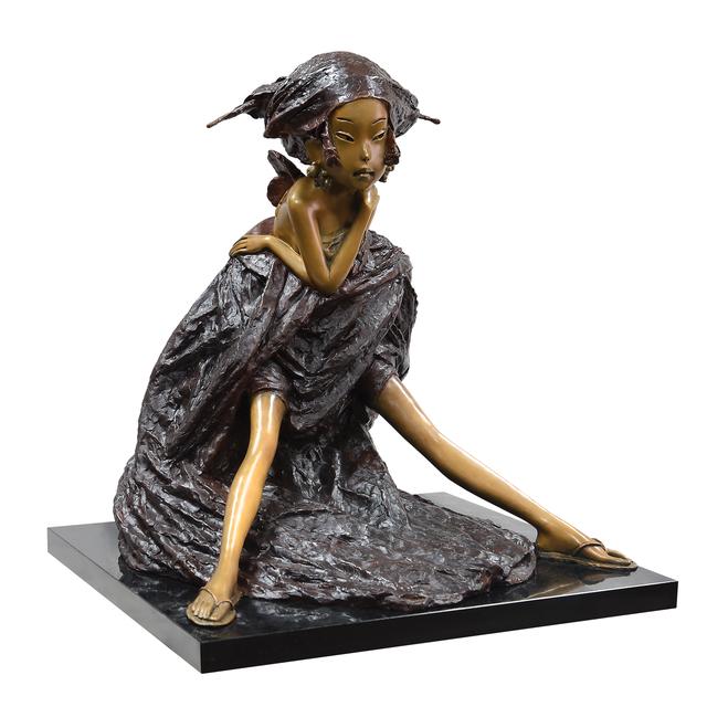 Andrey Ostashov, 'Bride', 2014, Sculpture, Bronze, granite,  OSTASHOV sculpture