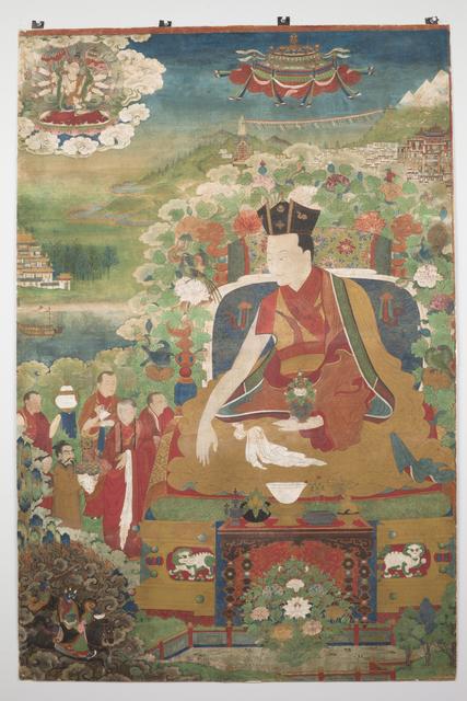, 'Ninth Karmapa, Wangchug Dorje (1555-1603),' ca. 1590, Rubin Museum of Art