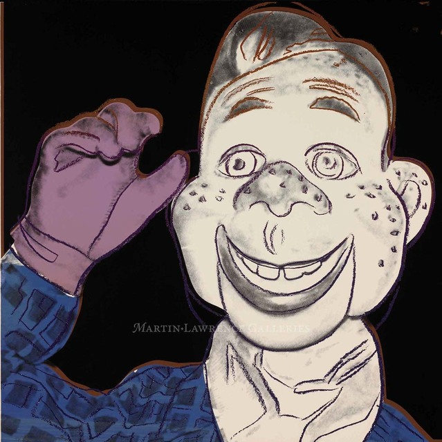 Andy Warhol, 'Howdy Doody, (#263, Myths)', 1981, Martin Lawrence Galleries