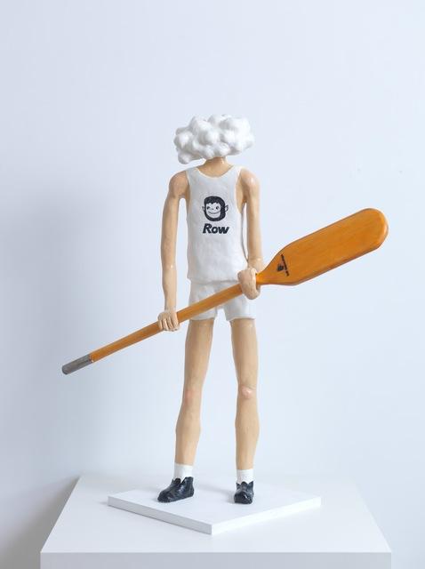 Akira the Hustler, 'Struggle 2', 2016, Sculpture, Acrylic on clay, pinewood, Ota Fine Arts