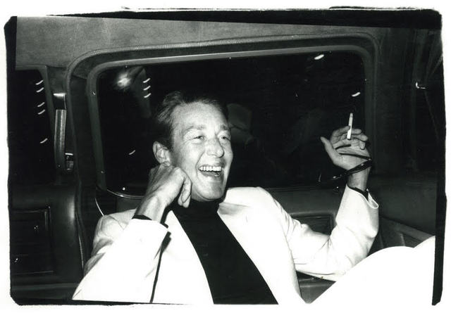, 'Andy Warhol, Photograph of Halston in a Limo circa 1979,' ca. 1979, Hedges Projects