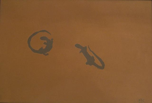 , 'Senza titolo (lucertole),' 1984, OTTO Gallery