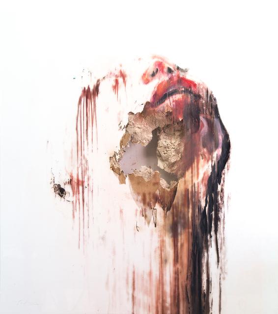 , 'Wounds XLVII,' 2017, Lazinc