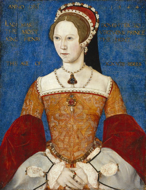 , 'Mary I of England,' 1544, Musée du Luxembourg