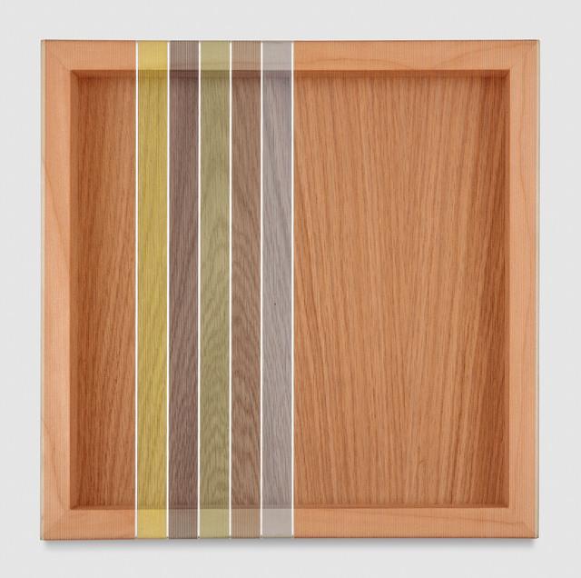 , 'Untitled (Orange Hovering Thread),' 2017, PRAZ-DELAVALLADE