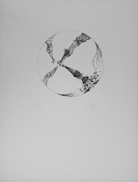 Joan Ponç, '4 pájaros (4 Birds)', 1967, Sylvan Cole Gallery