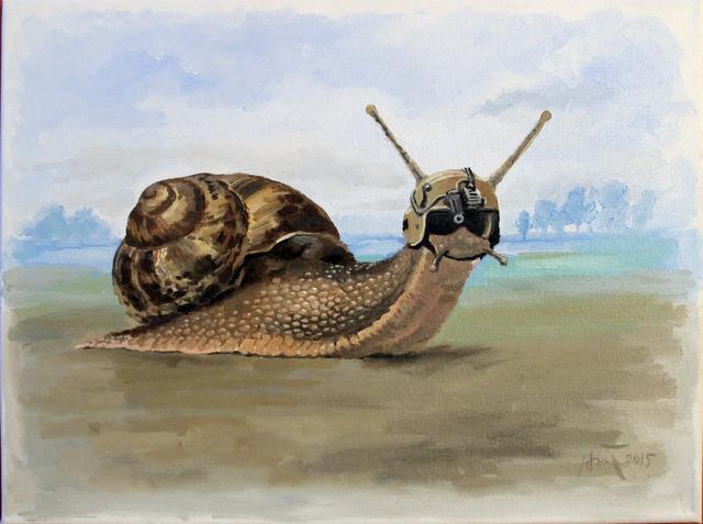 , 'L'escargot de Tirailleur,' 2015, Art Vietnam Gallery