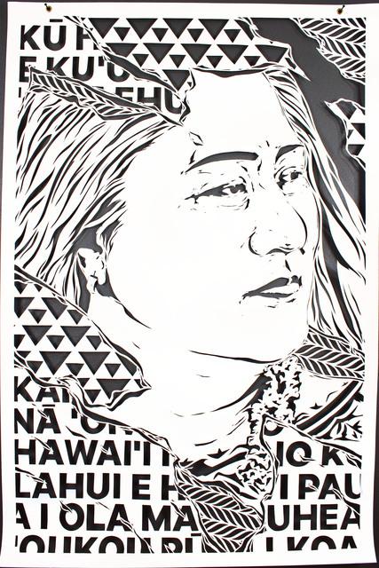 , ''...'O Ka Mea Ho'?kahi Iwi...Portrait of Kumu Hinaleimoana Wong-Kalu...',' 2017, form & concept
