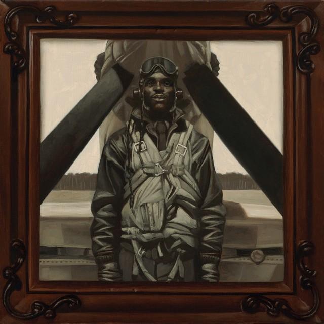 Kadir Nelson, 'Tuskegee Pilot', RJD Gallery