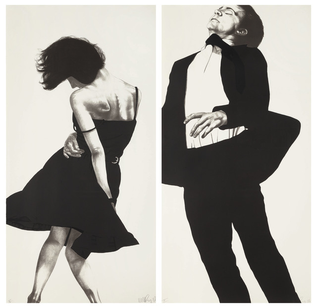 Robert Longo, 'Meryl and Jonathan, from Men in the Cities', 1988, Christie's