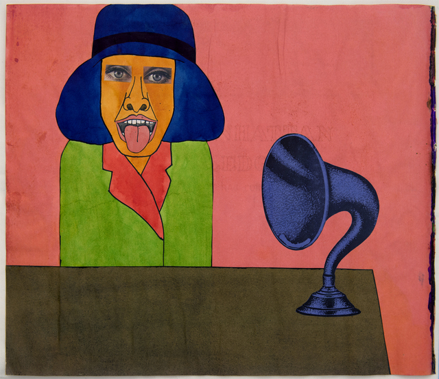 Larry Lewis, 'Man with Horn', ca. 1970, FRED.GIAMPIETRO Gallery