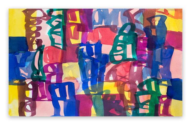 Melissa Meyer, 'Ambassade 44 (Abstract Expressionism painting)', 2007, IdeelArt