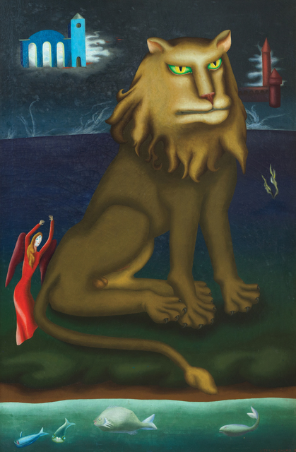 Stella Snead, 'Sulky Lion', 1943, Heather James Fine Art