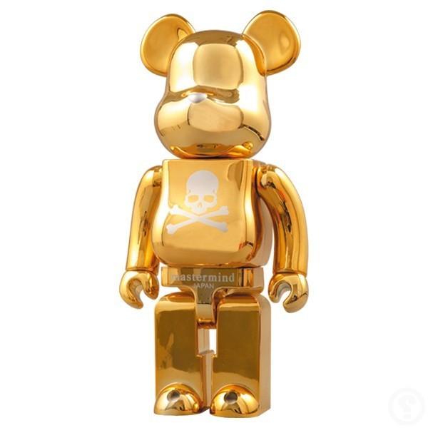 BE@RBRICK X mastermind JAPAN, 'BEARBRICK 1000% Mastermind Japan Gold', 2007, MK Art Invest Group