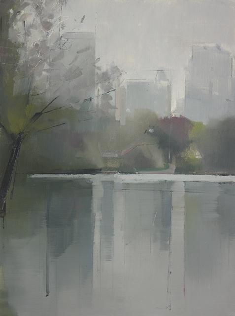 , 'Central Park Lake 2,' 2012, Kathryn Markel Fine Arts