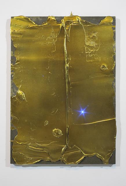 , 'Overlight Gold 1,' 2015, Galerie Juliètte Jongma