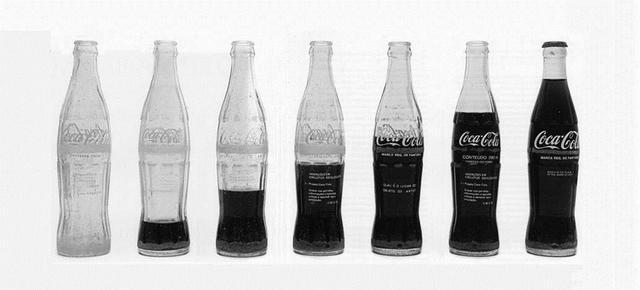""", 'Formalizing their concept: Cildo Meireles' """"Proyecto CocaCola, 1970"""",' 2015-2016, Galería Cayón"""