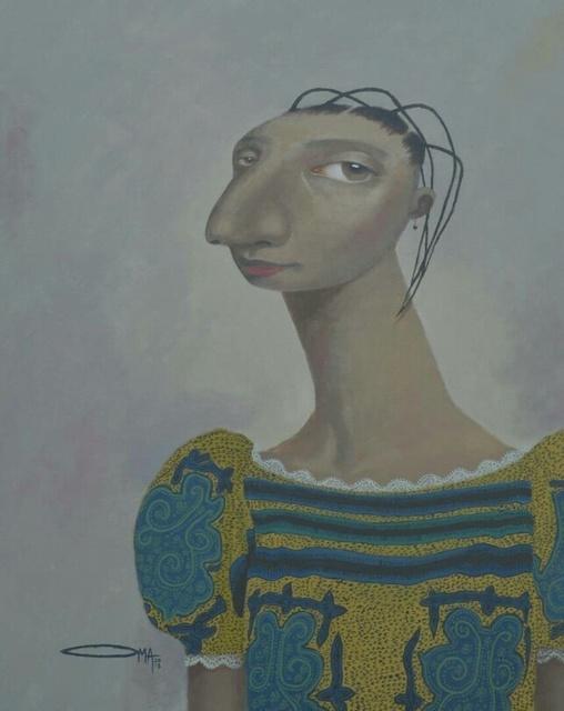 , 'Lady,' 2018, Red Door Gallery