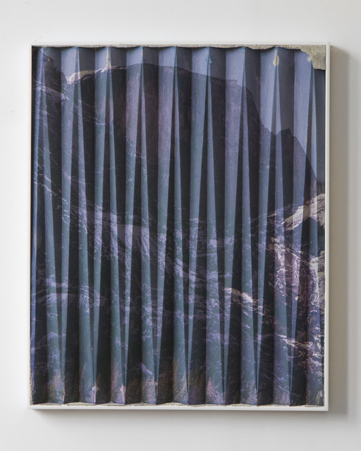 , 'Yosemite Purple Angle Fold (3),' 2014, Brand New Gallery
