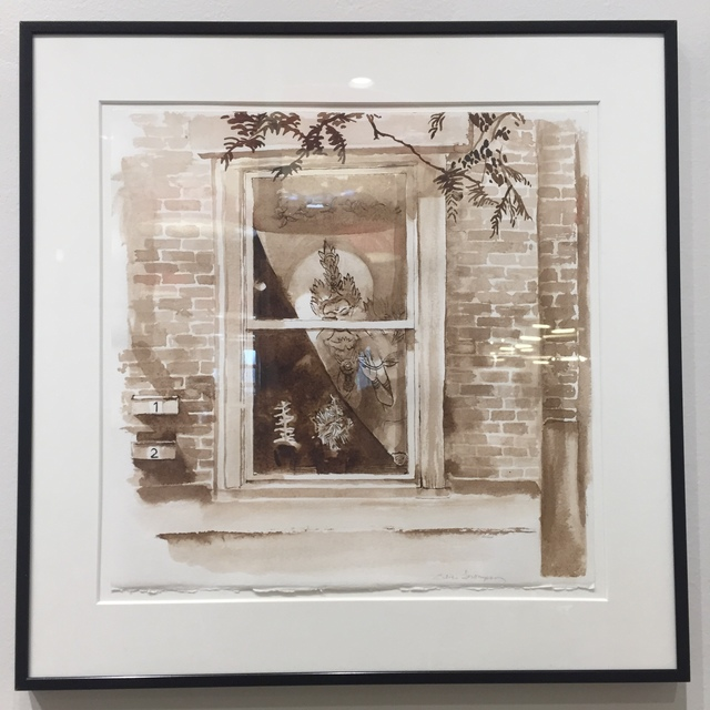 Alice Thompson, 'Girard Avenue Windows Study I', 2018, InLiquid