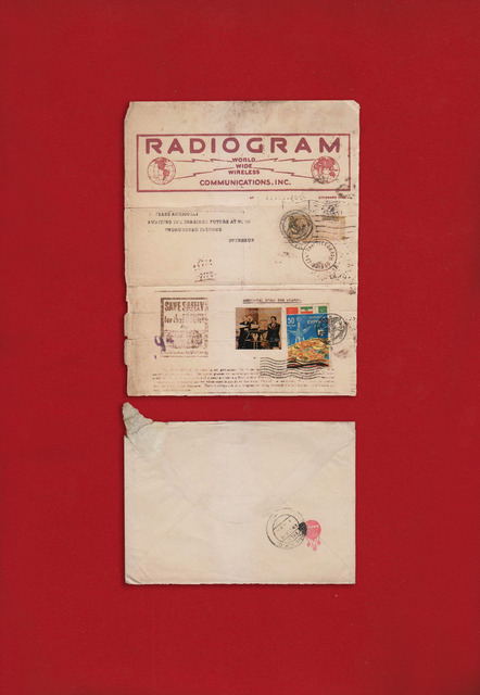 , 'Telegram from the Future, Radiogram,' 2013, Grey Noise