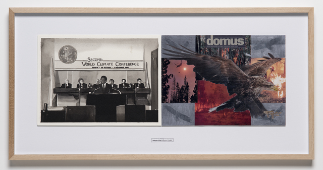 , 'October 29, 1990, Second Radenko Milak and Roman Uranjek, DATES, World Climate Conference in Geneva (from the series DATES - for a Subjective Timeline of the Climate Change),' 2018, Christine König Galerie