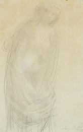 Woman in drapery