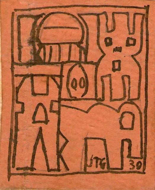 , 'Constructivo,' 1930, Galería de las Misiones