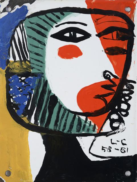 , 'Visage de femme,' 1961, Galerie Zlotowski