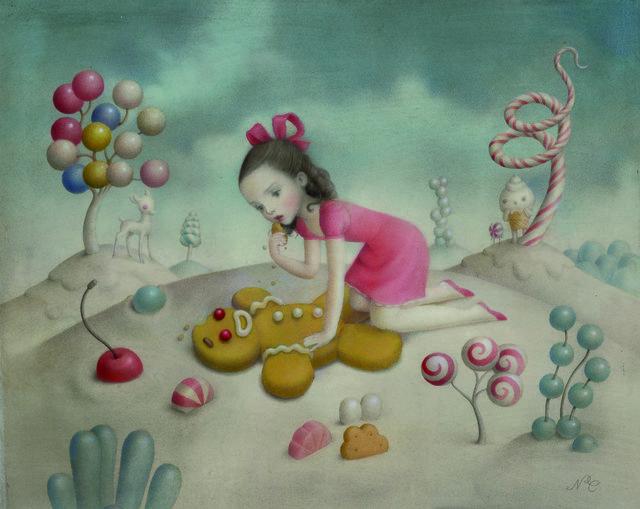 , 'Gingerbread Love,' 2016, AFA Gallery