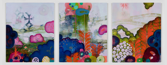 , 'Trilogy,' 2015, The Schoolhouse Gallery