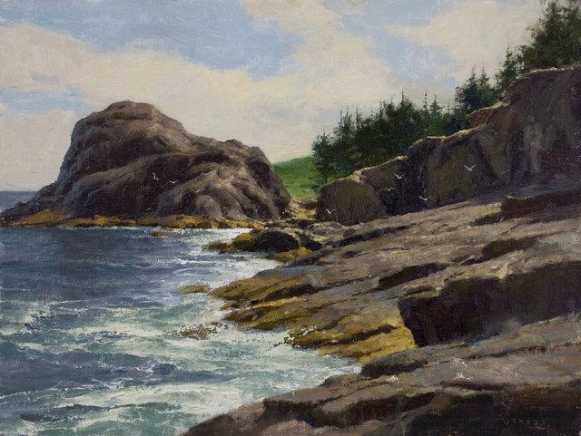 Donald W. Demers, 'Toward Gull Rock, Monhegan Island, Maine', 2016, Vose Galleries