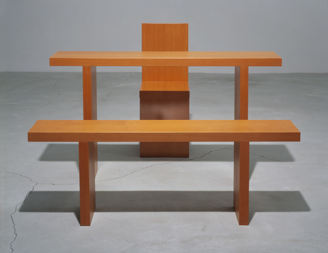 Robert Wilson, 'Dennis Table, Bench And Chair, Originally Designed For De Materie', 1989, ACE Gallery